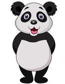 Cute panda cartoon — Stock Vector