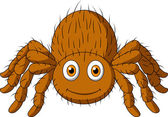Cute tarantula spider cartoon — Stock Vector