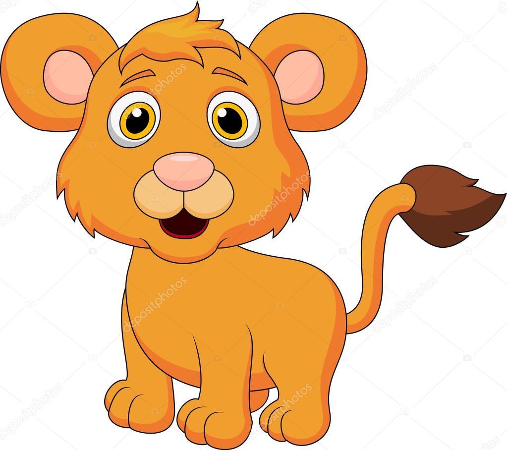 Dibujos Animados de Leones Bebes Dibujos Animados de León