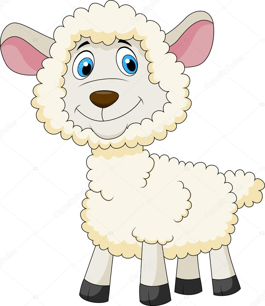 Blue Baby Wallpaper With Sheep Source Cute Cartoon Iphone