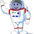 Stock Vector: Astronaut cartoon