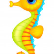 Cute seahorse cartoon — Stock Vector #25418921