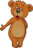 Kreskówka niedźwiedź brunatny — Wektor stockowy