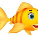 Cute fish cartoon — Stock Vector #27371719