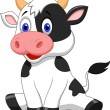 Cute cow cartoon — Stock Vector #27381915