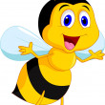 Cute bee cartoon — Stock Vector #27383011