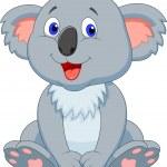 Cute koala cartoon — Stock Vector #27384211