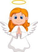 Cute fairy cartoon — Stock Vector