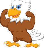 Strong eagle — Stock Vector