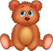 Cute baby bear cartoon — Stock Vector