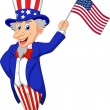 Uncle Sam Want You — Stock Vector