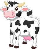 Cute cow cartoon — Stock Vector