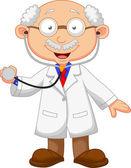 Medicine doctor — Stock Vector