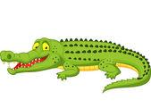 Crocodile cartoon — Stock Vector