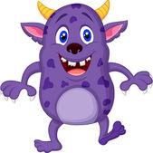 Cute monster cartoon — Stock Vector