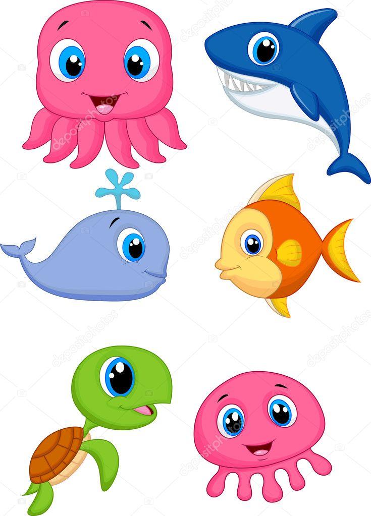 Dibujos Animados Fondo Del Mar de Mar de Dibujos Animados