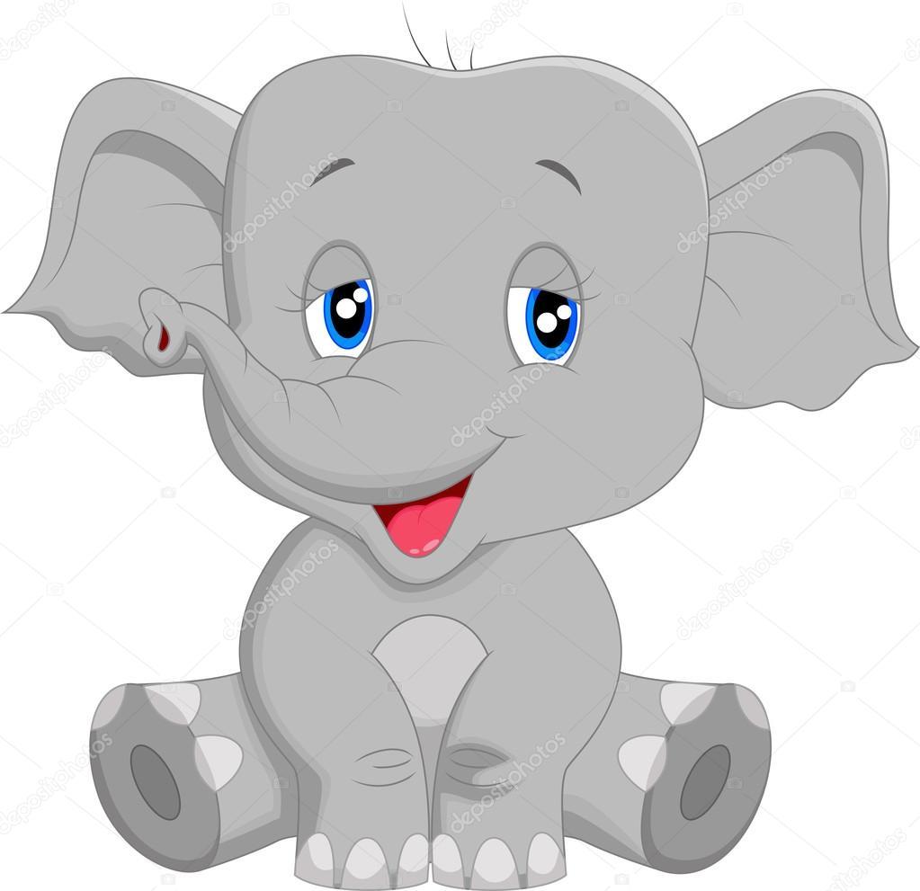 Elefante bebe caricatura the image kid - Fotos de elefantes bebes ...