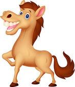 Gelukkig paard — Stockvector