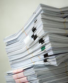 Pile of documents — Stockfoto