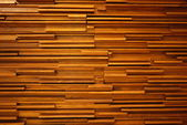 Random wood decorated wall — Stockfoto