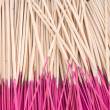 Joss sticks as background — Stock Photo