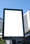 Outdoor advertising board — Stock Photo