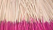 Joss sticks as background — Stock Photo