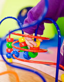 Enfants jouant colimaçon — Photo