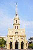 Christelijke neo-gotische kerk — Stockfoto