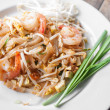 Stock Photo: Pad Thai, stir-fried rice noodles