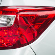 Stock Photo: Red taillight