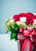 Flower gift — Stock Photo