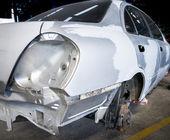 Car body repair — Stock Photo
