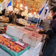 Tsukiji fish market Japan — Stock Photo