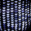 bokeh hearts — Stock Photo