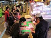 Mercado de peixe de Yokohama, Japão - 2012 — Fotografia Stock