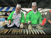 Yokohama Fish Market, Japan - 2012 — Stock Photo