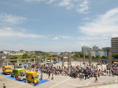 Flea Market at Nissan Stadium in Shin Yokohama, Japan — Stock Photo