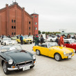 People attends Yokohama Historic Car Day — Stock Photo #42503499