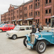 People attends Yokohama Historic Car Day — Stock Photo #42503911