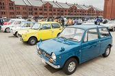 Row of vintage cars — Stockfoto