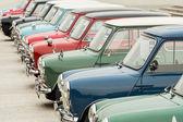 Row of Mini Cooper — Stock Photo