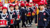 Children prepares for show — Stock Photo