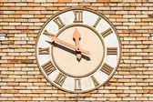 Old wall clock — Photo