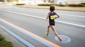 Marathon runners — Stockfoto