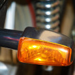 Motorcycle Rear Light — Stock Photo