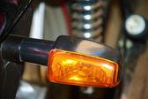オートバイの後部ライト — ストック写真