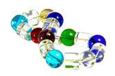 Bracelet of Glass Beads — Stockfoto