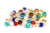 Beads of Different Colors — Stock Photo