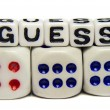 Stock Photo: Guess